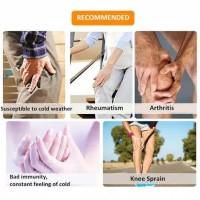 Sabuk Magnet Terapi Lutut Alat Pemanas Lutut Heating Knee Pad Original
