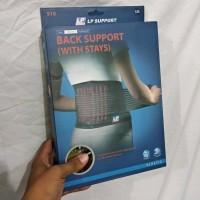 LP 919 - BACK SUPPORT W/ STAYS KORSET TULANG BELAKANG LUMBAL SACRO LBP