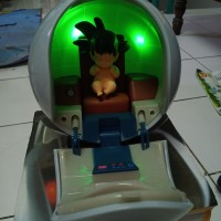 Action Figure Dragon Ball Saiyan Space Capsule