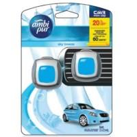 Ambipur Mini Clip 2 X 2 Ml Sky Breeze Pengharum Mobil Kode 205