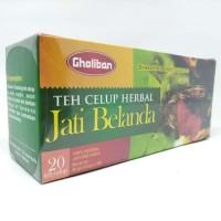 Teh Celup Daun Jati Belanda Gholiban - isi 20 kantong