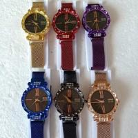 DISKON!!! 'NEW' Jam tangan wanita magnet Gucci permata DISKON!!!