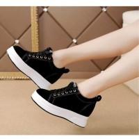 DISKON!!! Sepatu Wanita Kets Casual SDS256 Hitam - 37 HOT SALE