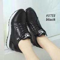 HOT SALE Sepatu Wanita Kets Casual Gradia SDS255 Hitam - Hitam, 37