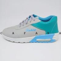 PROMO!!! Sepatu Wanita Kets Casual SDS183 - Hitam Pink, 37 PROMO!!!
