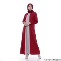 PROMO!!! Gamis Wanita Original| Zoe Maxi | Dress Muslim Polos | Tazkia