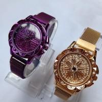 PROMO!!! Jam tangan wanita magnet BONIA PUTAR 360 DERAJAT TYPE A01