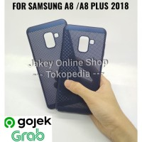 Hard Case Air Flow Case Samsung A8 - A8 Plus 2018 Anti Heat Case HP Ba