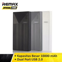 Remax Power Bank Thoway 10.000MAH RPP-55 Original White