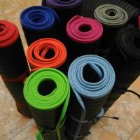 Matras Karet Gulung Olahraga Outdoor Camping Senam Yoga Anti Slip