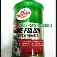 TURTLE WAX/CHROME POLISH & RUST REMOVER TURTLE WAX USA grab it fa