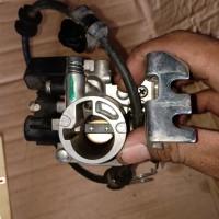 Throttle body karburator injeksi injektor injektion all new beat ec