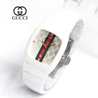 jam tangan wanita GUCCI KERAMIK BLACK WHITE