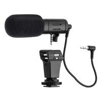 MAMEN Microphone Shotgun Mic-06 For DSLR Camera & Smartphone VLOG