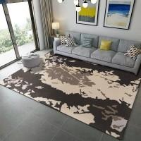 Karpet Handtuft Premium Wool Mewah Modern D002 Beige 160x230 cm