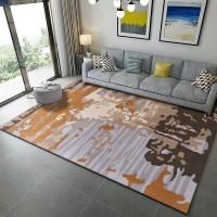 Karpet Handtuft Premium Wool Mewah Modern D012 GrayBrown 160x230 cm