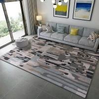 Karpet Handtuft Premium Wool Mewah Modern D006 GrayGreen 160x230 cm