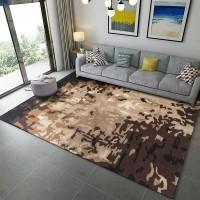 Karpet Handtuft Premium Wool Mewah Modern D015 Brown 160x230 cm