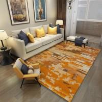 Karpet Handtuft Premium Wool Mewah Modern D023 YellowBro 200x300 cm