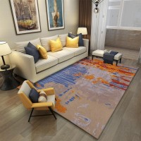 Karpet Handtuft Premium Wool Mewah Modern D012 BlueGray 200x300 cm