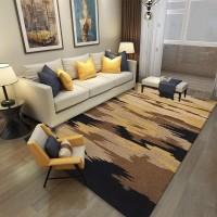 Karpet Handtuft Premium Wool Mewah Modern D007 Beige 160x230 cm