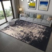 Karpet Handtuft Premium Wool Mewah dan Modern D015 Gray 200x300 cm