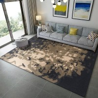 Karpet Handtuft Premium Wool Mewah Modern D015 DarkGray 160x230 cm