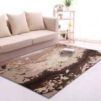 Karpet Handtuft Premium Wool Mewah dan Modern D002 Beige 200x300 cm