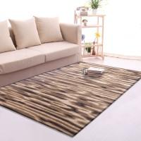 Karpet Handtuft Premium Wool Mewah dan Modern D003 Brown 200x300 cm