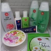 Paket Skin Care untuk kulit Berminyak dan Berjerawat dari Viva
