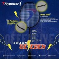 Raket Badminton Flypower smash GLEDEK original