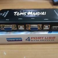 SWITCH KVM USB 4 PORT USB 2.0 [ KVM41UA ]