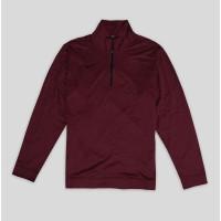 Sweater Nike Dri-Fit Half-Zip Pullover Original Merah Hati