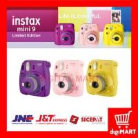 ORIGINAL Kamera Instant Polaroid Fujifilm Instax Mini 9, 9s Clear