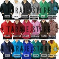Jaket Sweater Polos Hoodie Zipper/Resleting - Navy