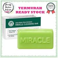 SOME BY MI 30 Days Miracle Cleansing Bar | Sabun muka batang somebymi