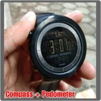 jam tangan kompas anti air skmei 1403 tali karet olahraga sport