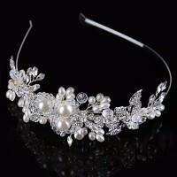 AR056 aksesoris bando rambut wedding accesories pesta headpiece