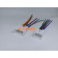 Socket Soket Kabel Audio Head Unit PNP Plug And Play yaris