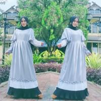 Baju Gamis Wanita Terbaru Gamis Syari Gamis Jenar Maxi Dress