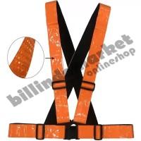Vertical Reflective Safety Vest Safety Reflective Strap Orange