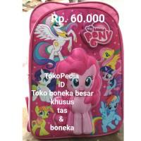 Tas anak sekolah perempuan SD 3D my litlle kuda poni pony