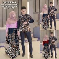 Batik keluarga couple sarimbitan setelan muslim resmi nyaman SRG 108