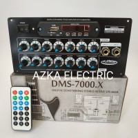 Kit Amplifier Speaker Aktif Bluetooth Plus Digital Echo Mixing DMS7000