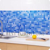 Best Wallpaper Stiker Dapur Dekorasi Minimalis 60x90cm Anti Air Anti A