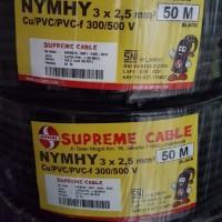 kabel supreme NYYHY 3x2.5 serabut 50m