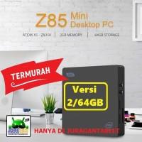 Mini PC Intel Z85 VGA HDMI Quadcore Z8350 2/32GB Windows 10 Wifi USB3