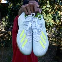 Sepatu Futsal Adidas X Tango 18.3 IN White/Solar Yellow BB9393 Originl