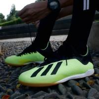 Sepatu Futsal Adidas X Tango 18.3 IN Yellow DB2441 Original