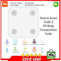 XIAOMI Mi Smart Scale 2 Body Composition Scale Timbangan Pintar ORI